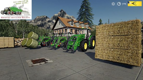 Мод «Magsi balefork Pack» для Farming Simulator 2019