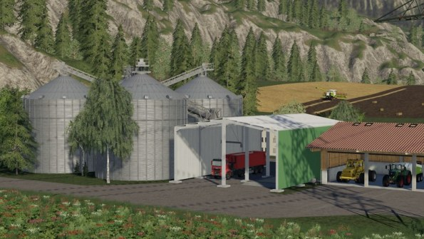 Мод «Large silo facility» для Farming Simulator 2019