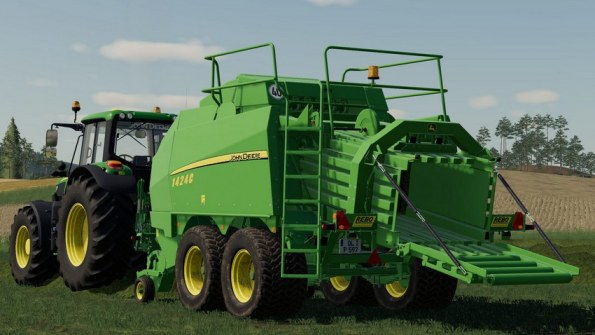 Мод «John Deere 1424C» для Farming Simulator 2019