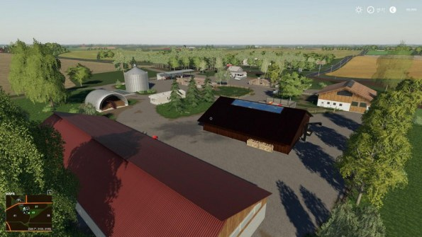 Карта «Clover Creek» для Farming Simulator 2019