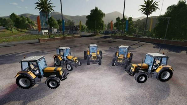 Мод «Renault 100-54 to 180-94» для Farming Simulator 2019