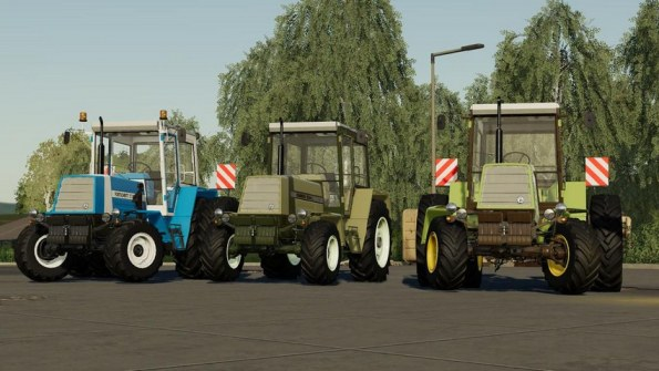 Мод «Fortschritt ZT 320-323-A» для Farming Simulator 2019