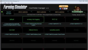 Мод «Free Mod Folder Manager Software» для Farming Simulator 2019