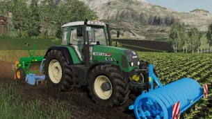 Мод «Fendt 800 Vario TMS» для Farming Simulator 2019