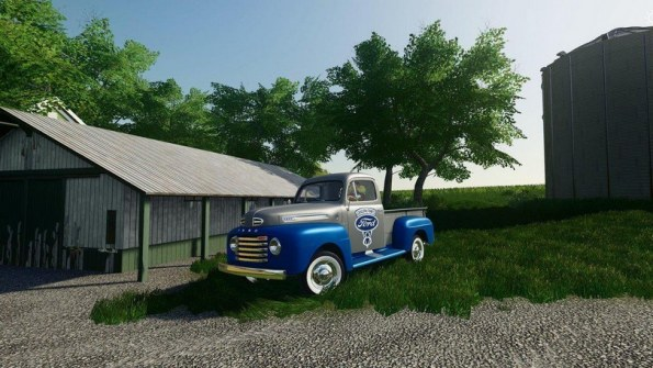 Мод «1948 Ford F100 Сервис» для Farming Simulator 2019