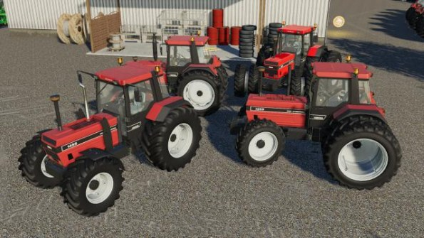 Мод «Case International 1255 / 1455» для Farming Simulator 2019