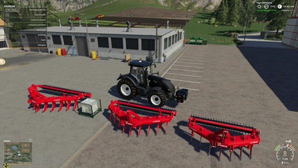 Мод плуги «JYMPA SJ Series» для Farming Simulator 2019