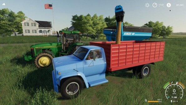 Мод «1977 Chevrolet C70 Grain Truck» для Farming Simulator 2019