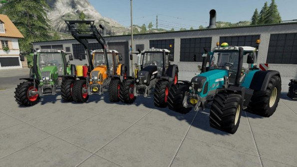 Мод «Fendt Favorit 700/800 Vario Pack» для Farming Simulator 2019