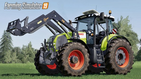 Мод «Claas Axion 800 Series» для Farming Simulator 2019