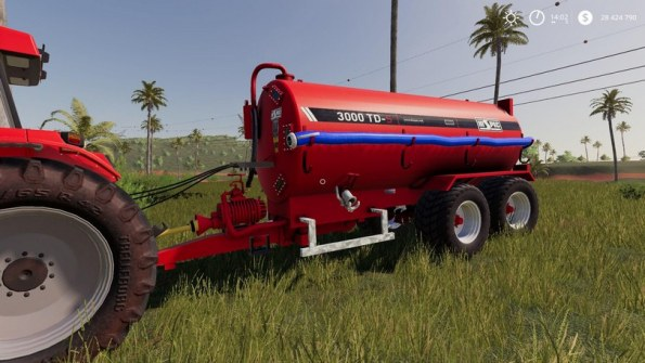 Мод «HiSpec 3000 Gallon Tanker» для Farming Simulator 2019