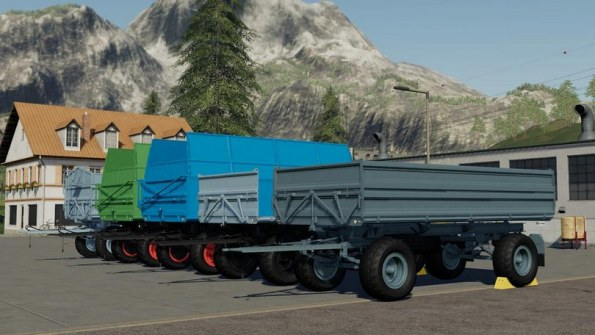 Мод «Fortscritt HW80 Trailer Pack» для Farming Simulator 2019