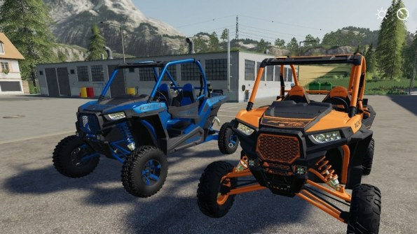 Мод «Polaris RZR Two Door» для Farming Simulator 2019