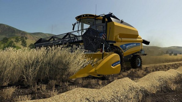 Мод «New Holland TC5.90» для Farming Simulator 2019