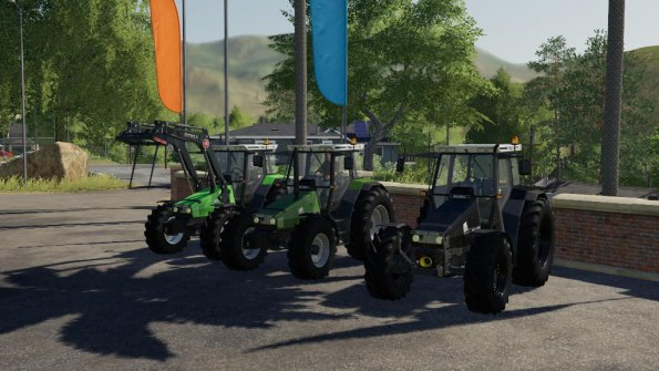 Мод «Deutz AgroStar Clear View» для Farming Simulator 2019