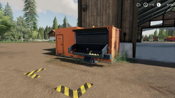 Мод «Bio Heating Plant By Stevie» для Farming Simulator 2019