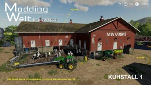 Мод «MW Hof Pack - USA Edition» для Farming Simulator 2019