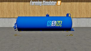 Мод «RSM liquid Fertilizer Tank» для Farming Simulator 2019