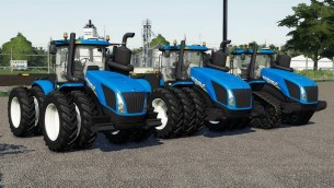 Мод «New Holland T9 US» для Farming Simulator 2019