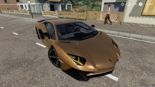 Мод «Lamborghini Aventador LP750-4 SV» для Farming Simulator 2019