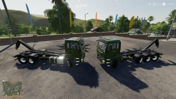 Мод «MAN TGS 18.500 HookLift» для Farming Simulator 2019