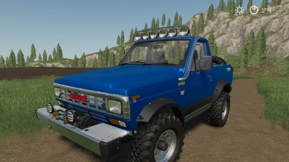 Мод «Nissan Safari 1985» для Farming Simulator 2019
