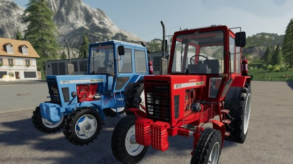 Мод трактора «МТЗ-80/82» для Farming Simulator 2019