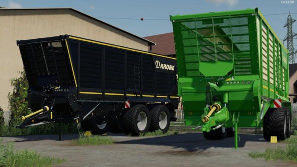 Мод «Krone TX 460D» для Farming Simulator 2019