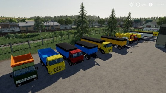 Мод «КамАЗ Пак» для Farming Simulator 2019