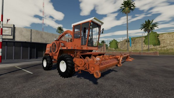 Мод комбайн «Дон-680» для Farming Simulator 2019