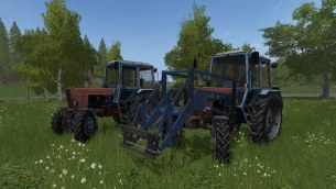 Мод «МТЗ-100 MR» для Farming Simulator 2017