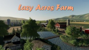 Карта «Lazy Acres Farm» для Farming Simulator 2019