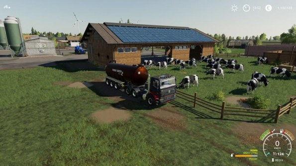 Мод «Коровник 2000» для Farming Simulator 2019