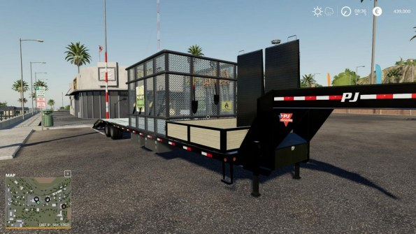 Мод «Remake 40ft PJ Lawn Trailer» для FS 2019