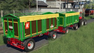 Мод «Kroger Agroliner HKD 302» для Farming Simulator 2019