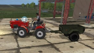Мод «TZ4K Garden Tractor» для Farming Simulator 2017