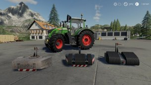 Мод «Front Weights Pack» для Farming Simulator 2019