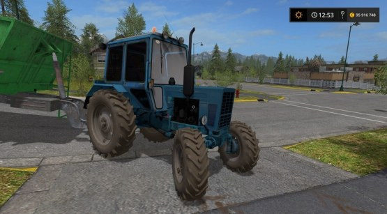 Мод «МТЗ-82 UK» для Farming Simulator 2017