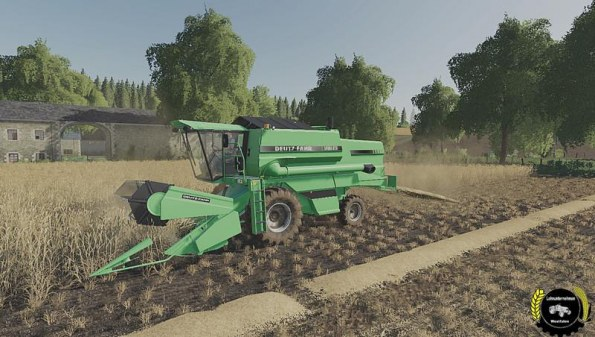 Мод «DEUTZ-FAHR TopLiner 4075H» для Farming Simulator 2019