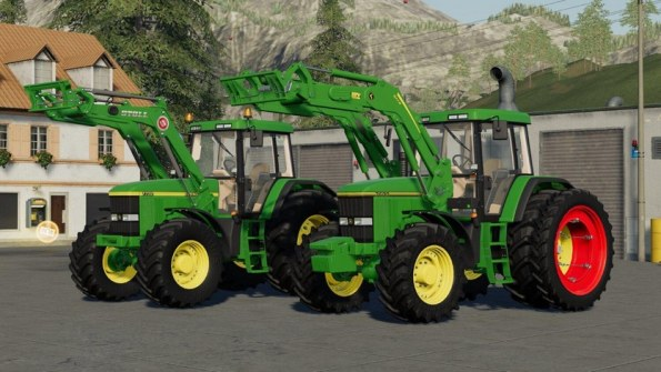 Мод «John Deere 7800 / 7810» для Farming Simulator 2019