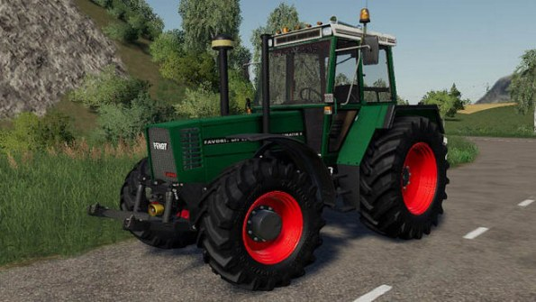 Мод «Fendt 600 Turbomatik E» для Farming Simulator 2019