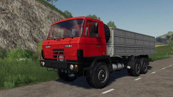 Мод «Tatra 815 Agro» для Farming Simulator 2019
