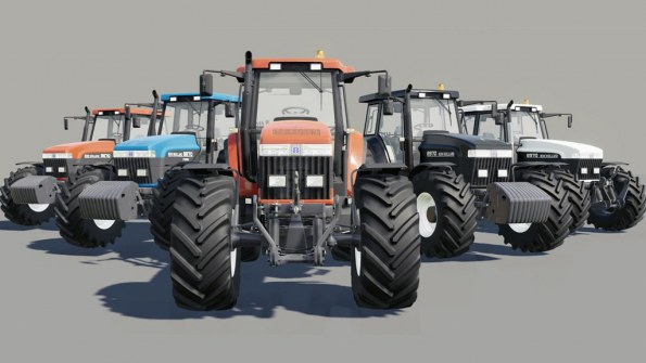 Мод «NEW HOLLAND 70 series» для Farming Simulator 2019
