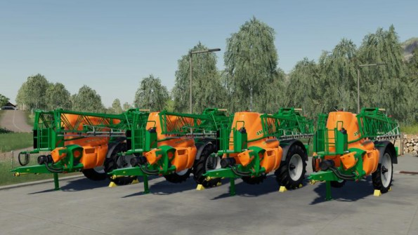 Мод «Amazone UX5200 Pack» для Farming Simulator 2019