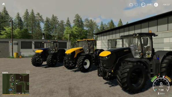 Мод «JCB Fastrac 8330 BIG» для Farming Simulator 2019