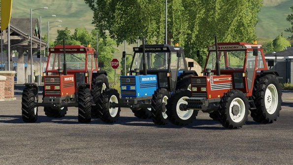 Мод «New Holland 110 90» для Farming Simulator 2019