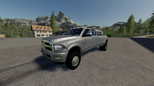 Мод «Dodge Ram 3500» для Farming Simulator 2019