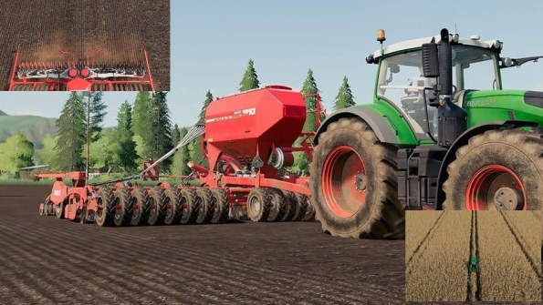 Мод «Horsch Pronto 9 DC with staking capabilities» для FS 2019
