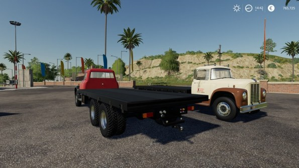 Мод «International Loadstar F1800 Flatbed» для FS 2019