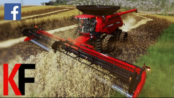 Мод «Case IH Axial-Flow 240 Series» для Farming Simulator 2019